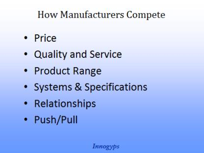 How Manufacturers Compete