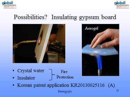 Insulating Gypsum Board